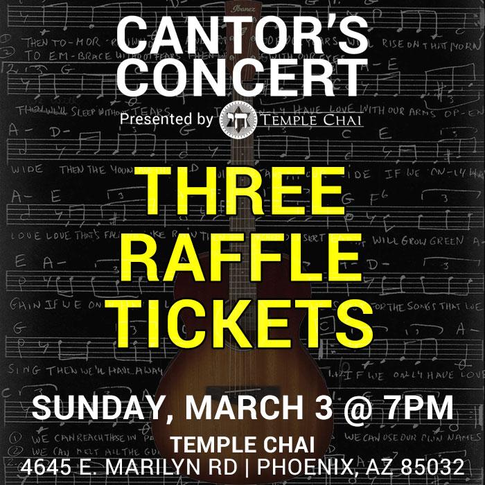 3 Raffle Ticket