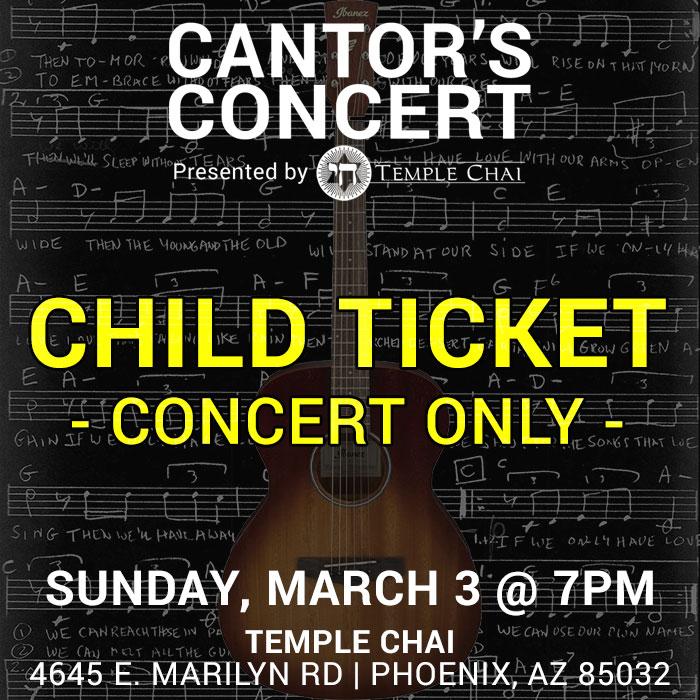 Child Concert Ticket